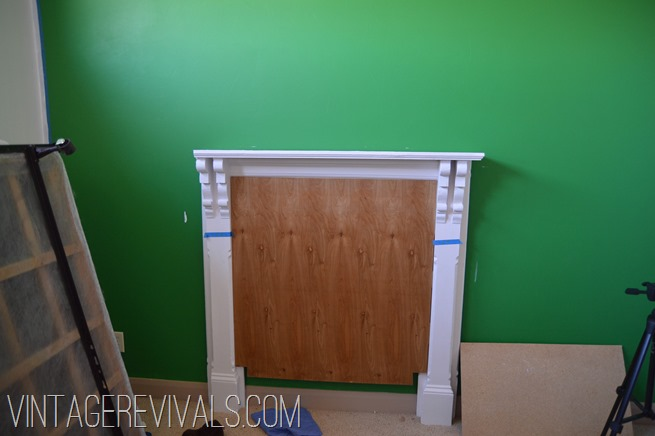 Mantle Headboard Update @ Vintage Revivals-8