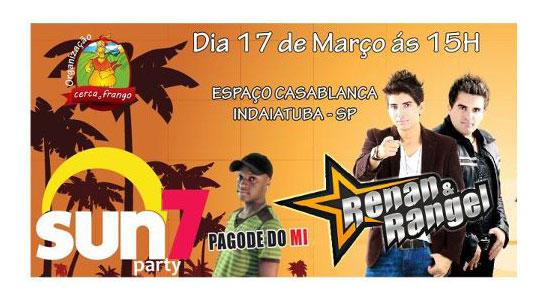 Sun7 Party - Espaço Casablanca - Indaiatuba - SP