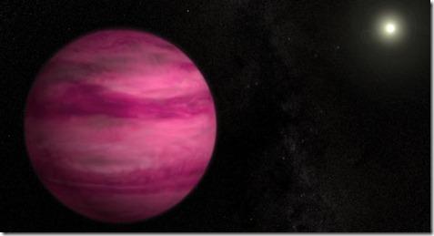 nasa planeta rosa