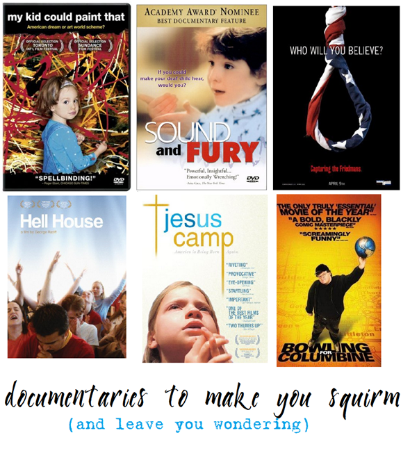documentaries to make you squirm