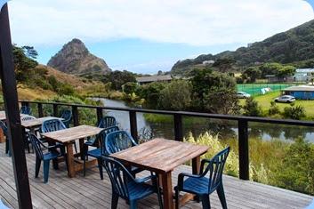 Beautiful views of the Tasman Sea from the Piha RSA decking area. Photo courtesy of Dennis Lyons