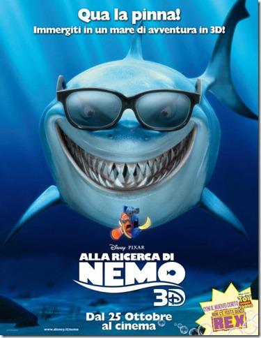 Alla Ricerca di Nemo 3D   Nel Blu dipinto di Blu