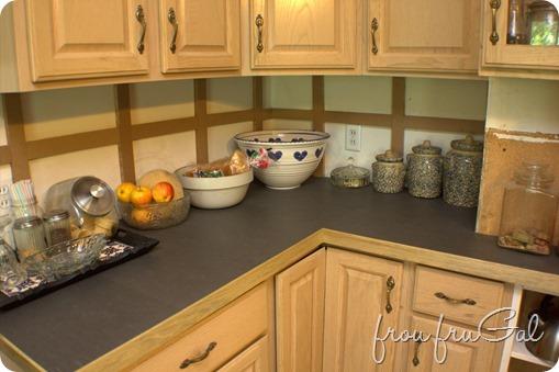 Porcelain Tile Counter