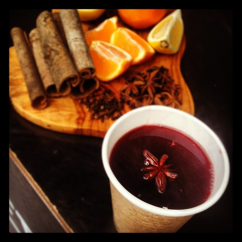 #336 - mulled wine at Brockley Market