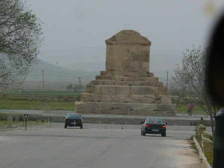 Things to see in Persepolis: The grave of Cyrus from Pasargadae
