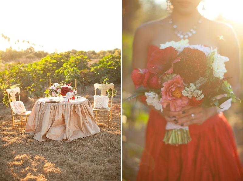 1OakandtheOwl_Red Peony Bouquet