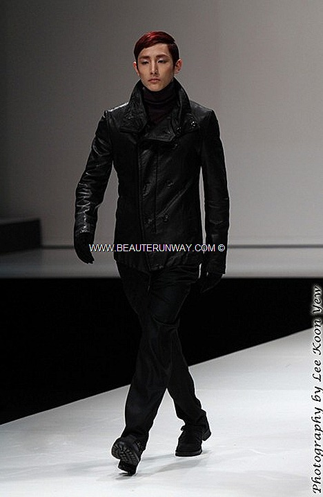 MENS FASHION WEEK SINGAPORE 2012 SONGZIO FALL WINTER  Jackets coat pant KOREAN DESIGNER CELEBRITIES MARINA BAY SANDS K-POP SE7EN