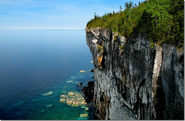 tobermory cliffs