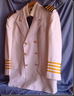 Capitaine Bonhomme. Veste blanche