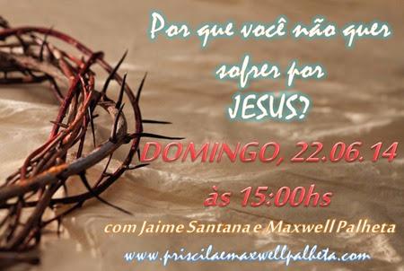sofrer por Cristo - Priscila e Maxwell Palheta