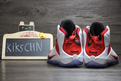 nike lebron 12 gr lion heart 3 10 Upcoming Nike LeBron XII (12) Red / White Lion Heart
