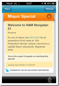 Mayor at HM Luleå