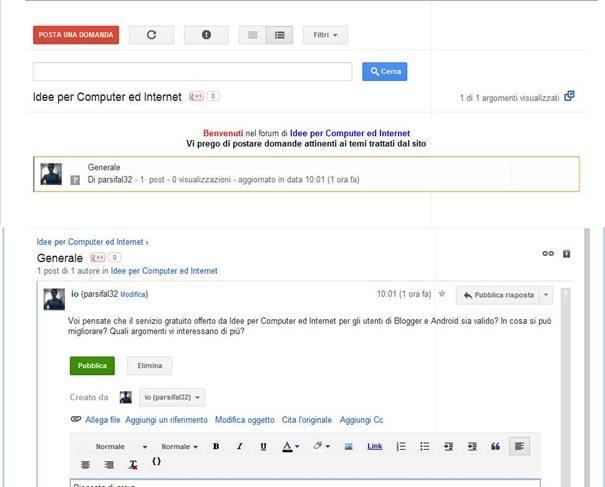forum-google-gruppo-blogger