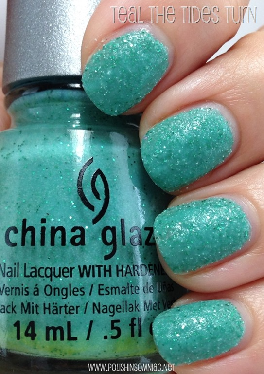 China Glaze Teal The Tides Turn