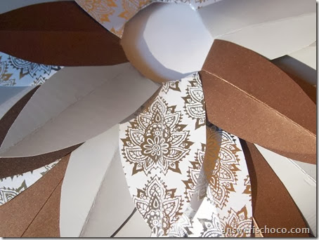 Paper Wreath Layers