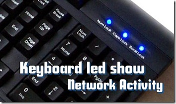 keyboard led show network activity