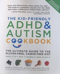 Cape Cod Columbus weekend 2012..Sat. ADHD Gluten free kid friendly cookbook