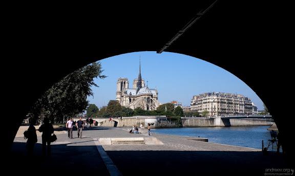 Париж: уличная жизнь