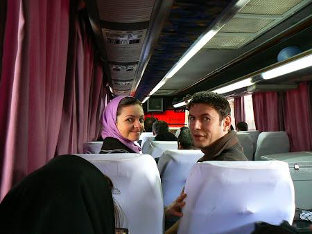 Teheran - Kashan bus