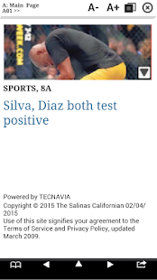 The Californian Print Edition - screenshot