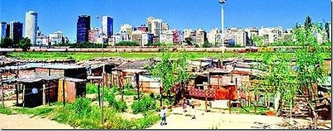 contrastes en los asentamientos humanos la nación