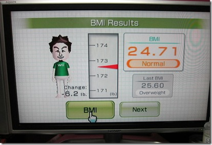 wii fit weight uncool dad