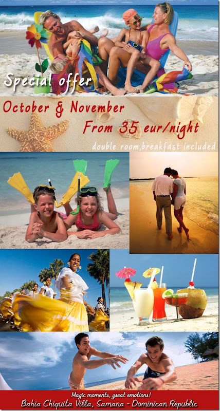 Special offer October November_2011_Samana_Dominican Republic