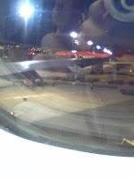 成田空港、旅立ち