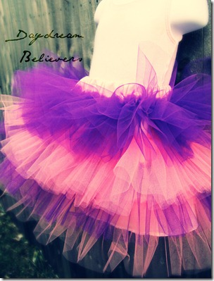 Tiered tutu by daydream believers