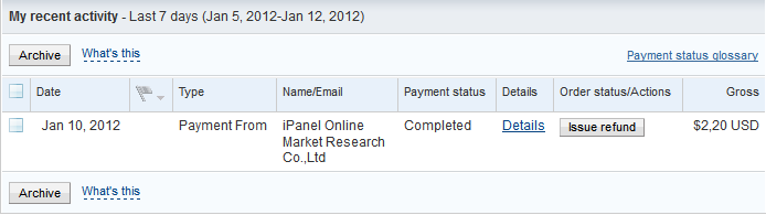 Bukti Pembayaran Ipanelonline.com (Pembayaran Ke-8)
