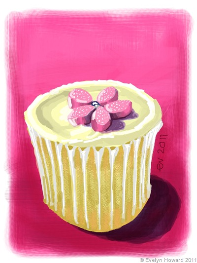 Pink Cupcake © Evelyn Howard 2011