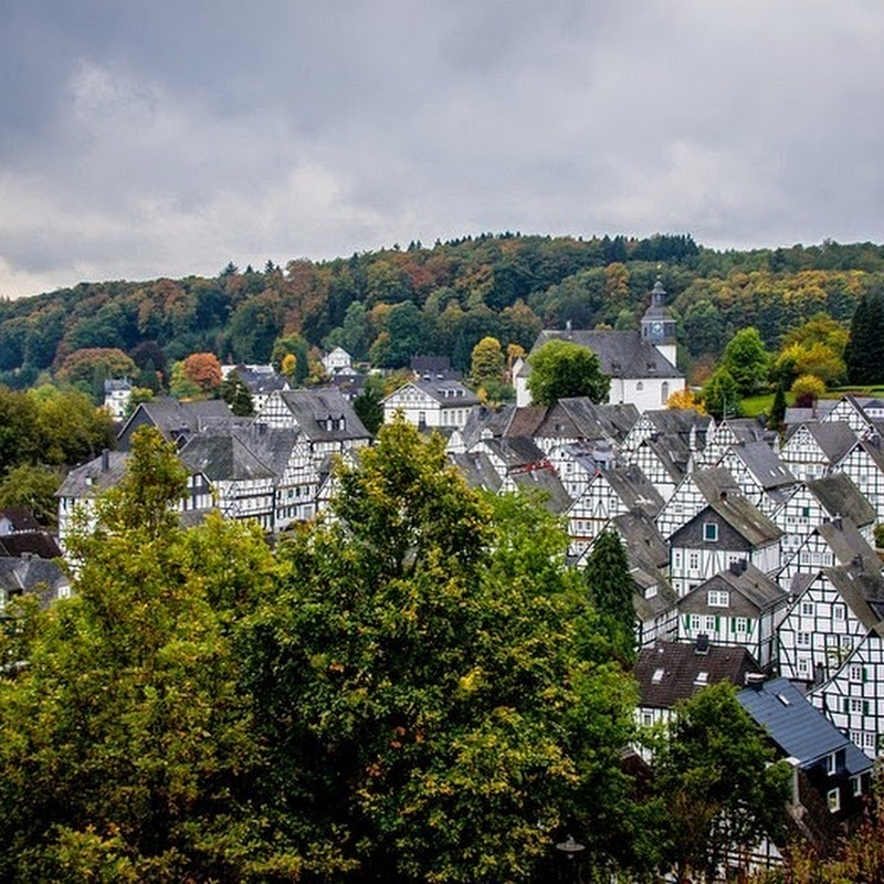 The Half-Timbered Houses of Freudenberg