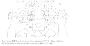 [AA]Sharuru Faff (PreCure Dokidoki!)