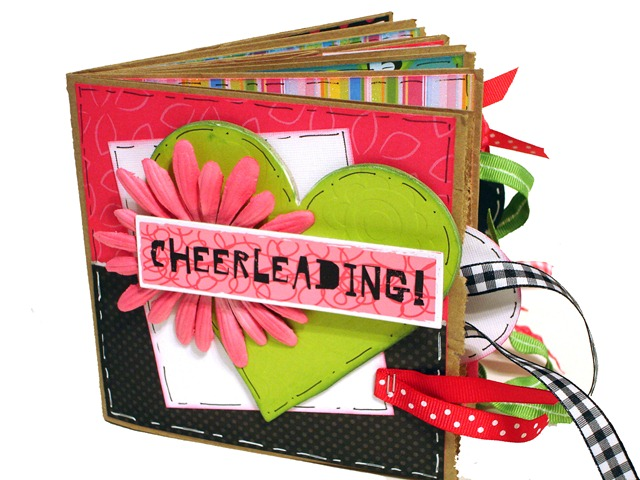 Cheerleading Scrapbook 1