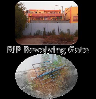 Revolving gate