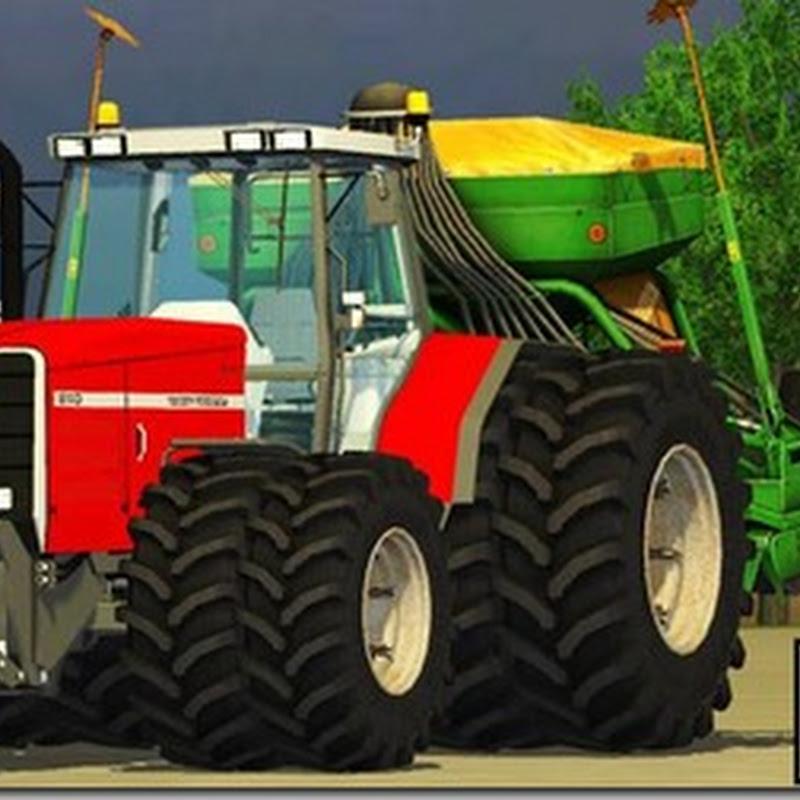 Farming simulator 2013 - Massey Ferguson 8140