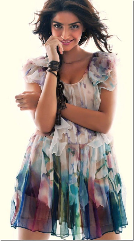 Sonam Kapoor Latest Hot Pictures from Cineblitz Magazine July 2013