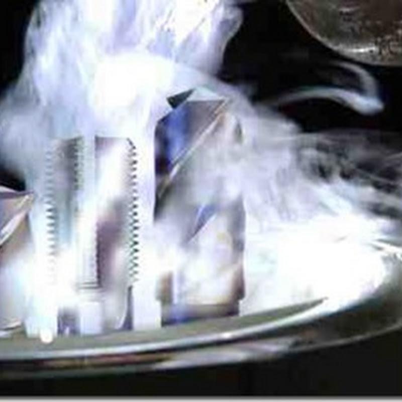 Cryogenic treatment of steel