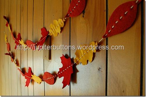 guirnaldas otoño