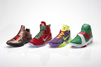 nike lebron 9 gr christmas 8 08 Throwback Thursday: Look Back at LBJs 2011 Christmas Shoes