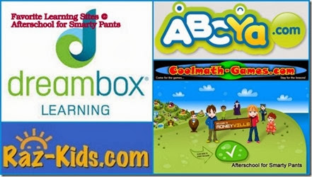 Favorite Learning Sites from Afterschool for Smarty Pants