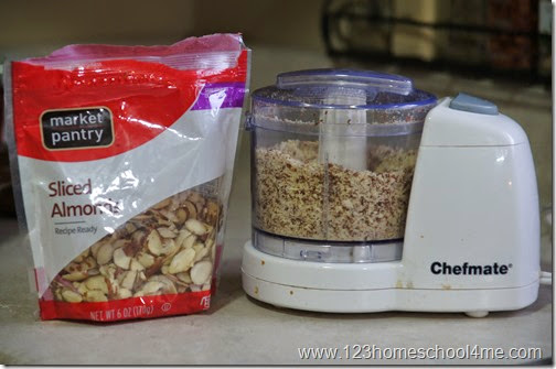 add ground almonds