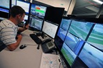 From a Central Control Center, Ford Engineers can Monitor Up to Eight Robotically-Driven Test Vehicles Simultaneously