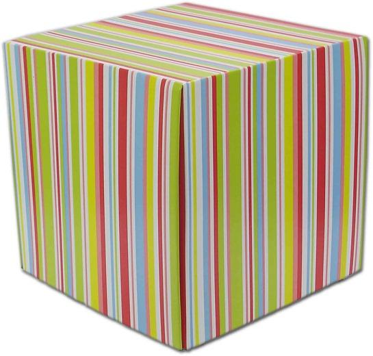 Pufe Banco Eco Cube Listra