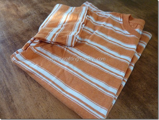 Make a pair of children's pajama pants from a tee shirt.  Check it out at Crafty Cousins (1)