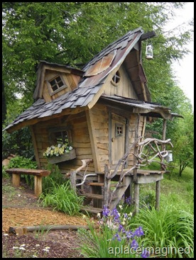 wimsical playhouse