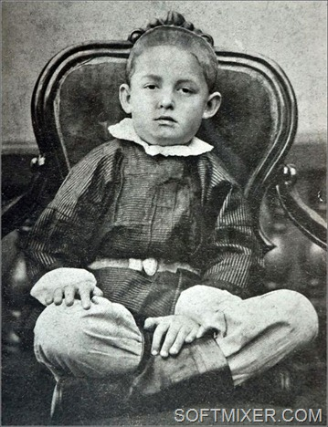 Циолковский в возрасте 5 лет