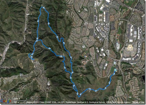 My Activities Rockit, WestRidge lollipop loop 4-20-2012