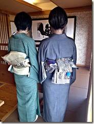 元屋先生の生徒さん転勤で送別会に (4)