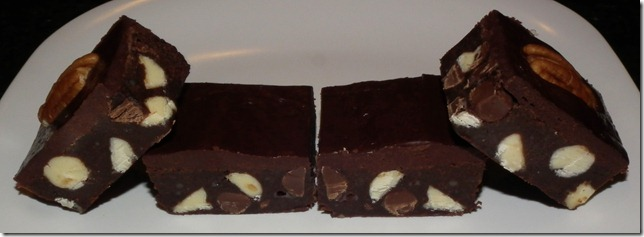 Quintuple Chocolate Brownies 11-21-11--TWD